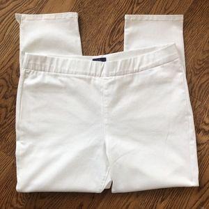 NYDJ Jeans - NYDJ Size 18 White Millie Pull On Ankle Hi Rise
